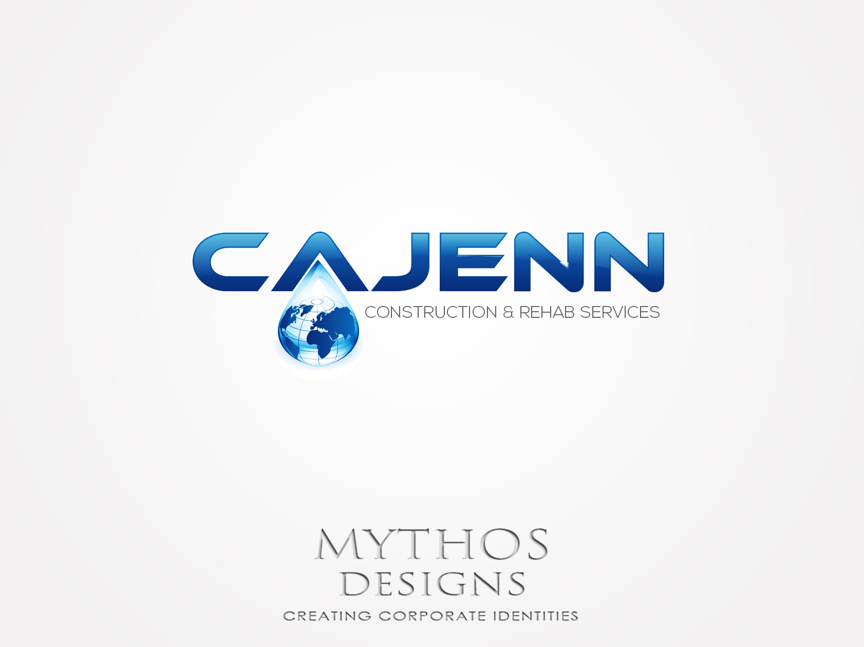 Logo Design by Mythos Designs - Entry No. 311 in the Logo Design Contest New Logo Design for CaJenn Construction & Rehab Services.
