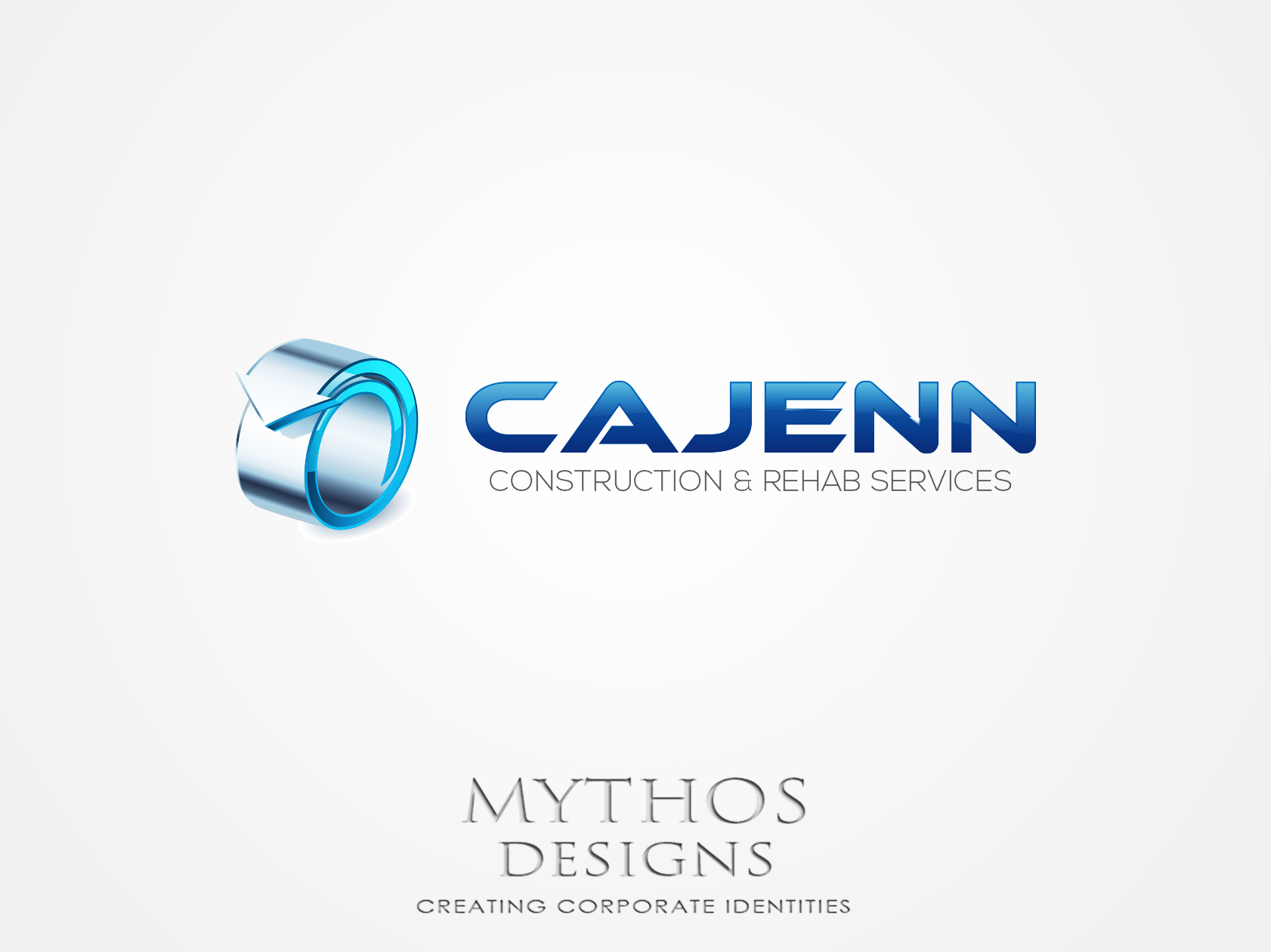 Logo Design by Mythos Designs - Entry No. 312 in the Logo Design Contest New Logo Design for CaJenn Construction & Rehab Services.