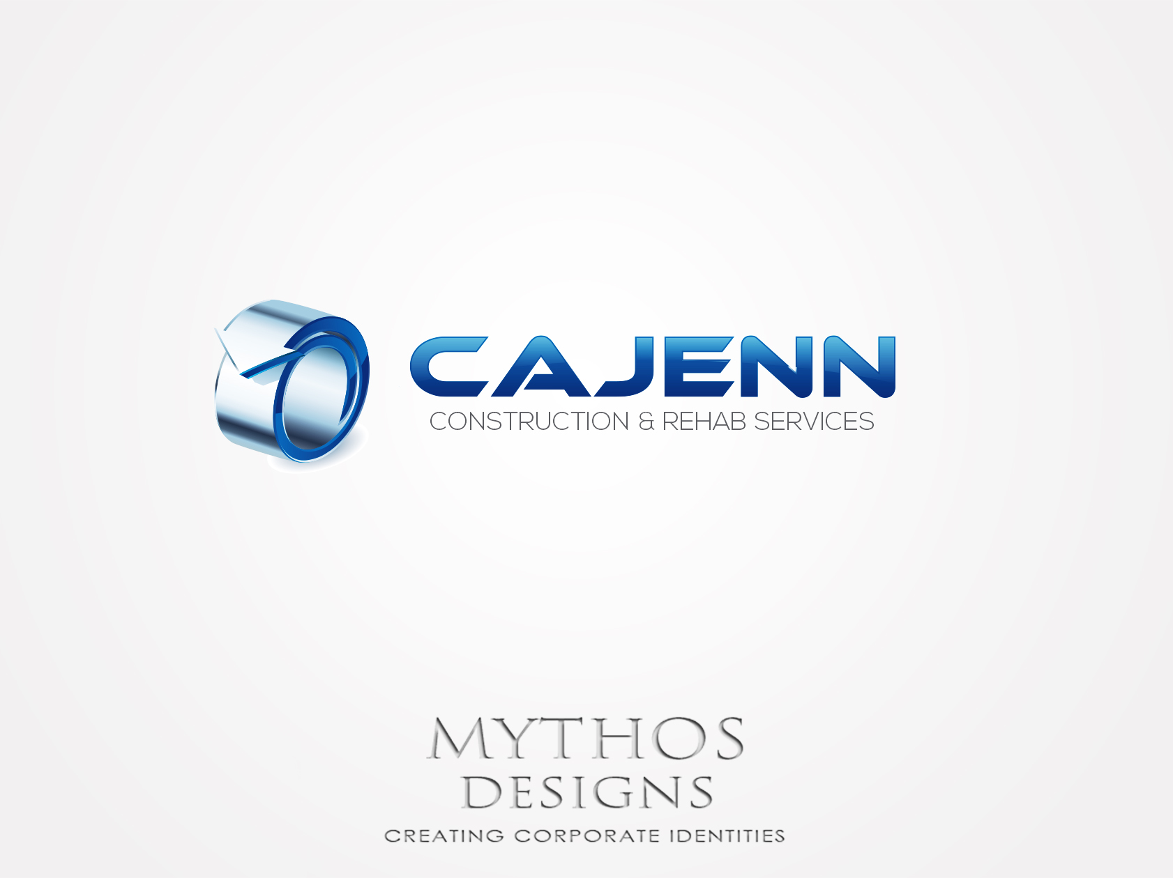 Logo Design by Mythos Designs - Entry No. 313 in the Logo Design Contest New Logo Design for CaJenn Construction & Rehab Services.