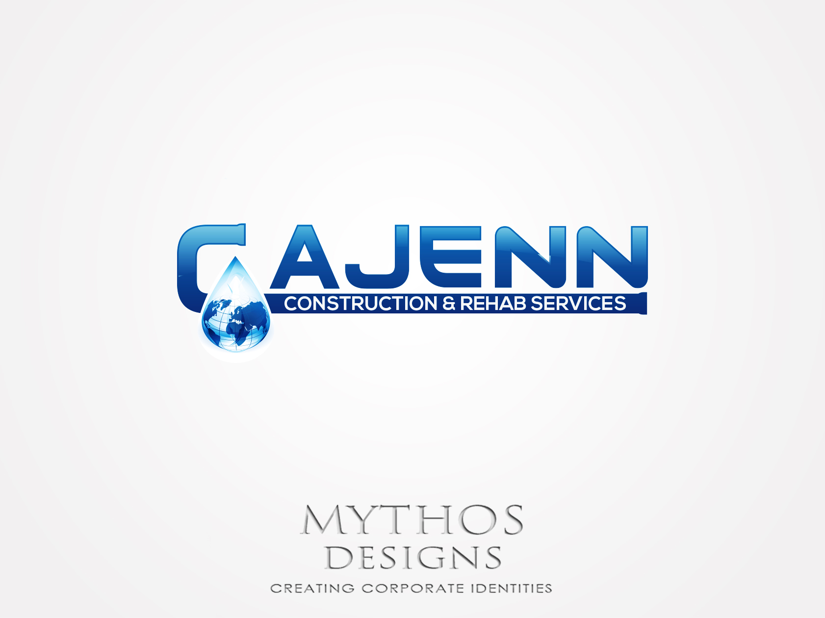 Logo Design by Mythos Designs - Entry No. 314 in the Logo Design Contest New Logo Design for CaJenn Construction & Rehab Services.
