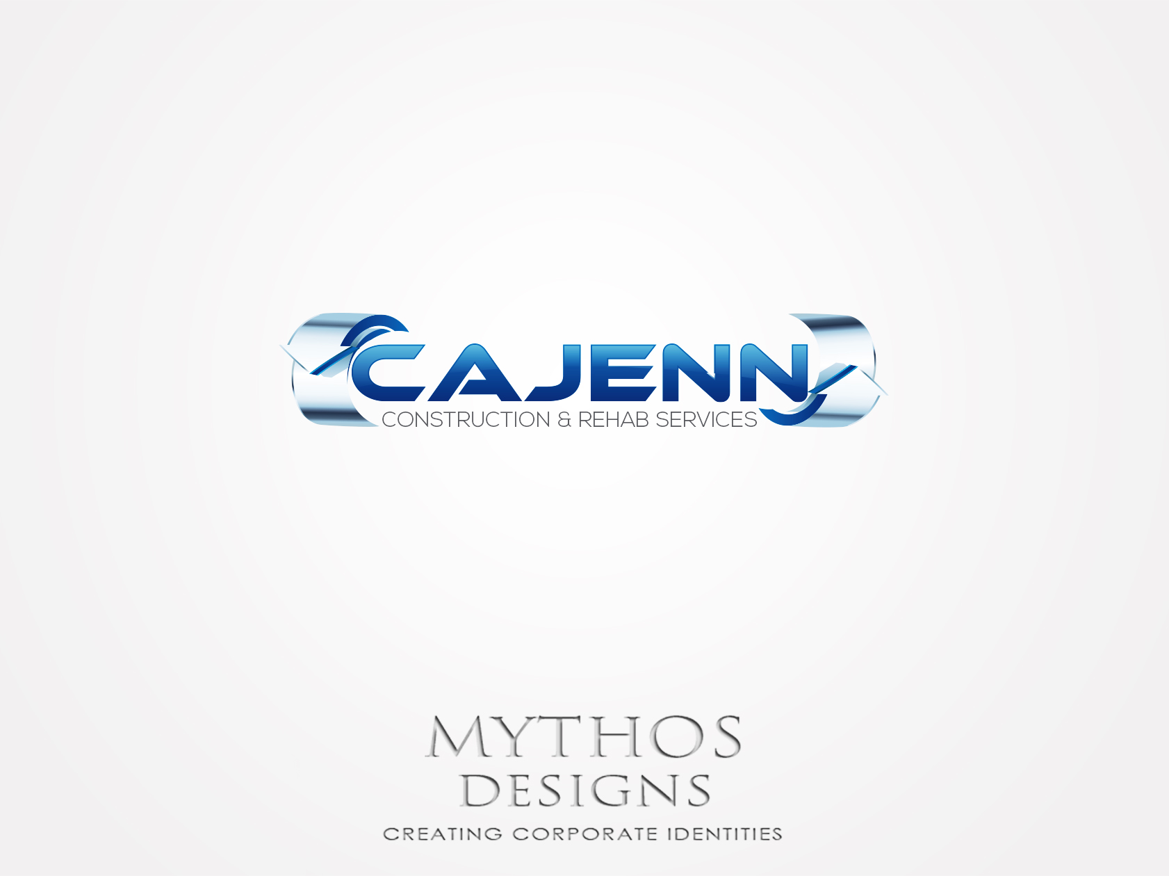 Logo Design by Mythos Designs - Entry No. 315 in the Logo Design Contest New Logo Design for CaJenn Construction & Rehab Services.
