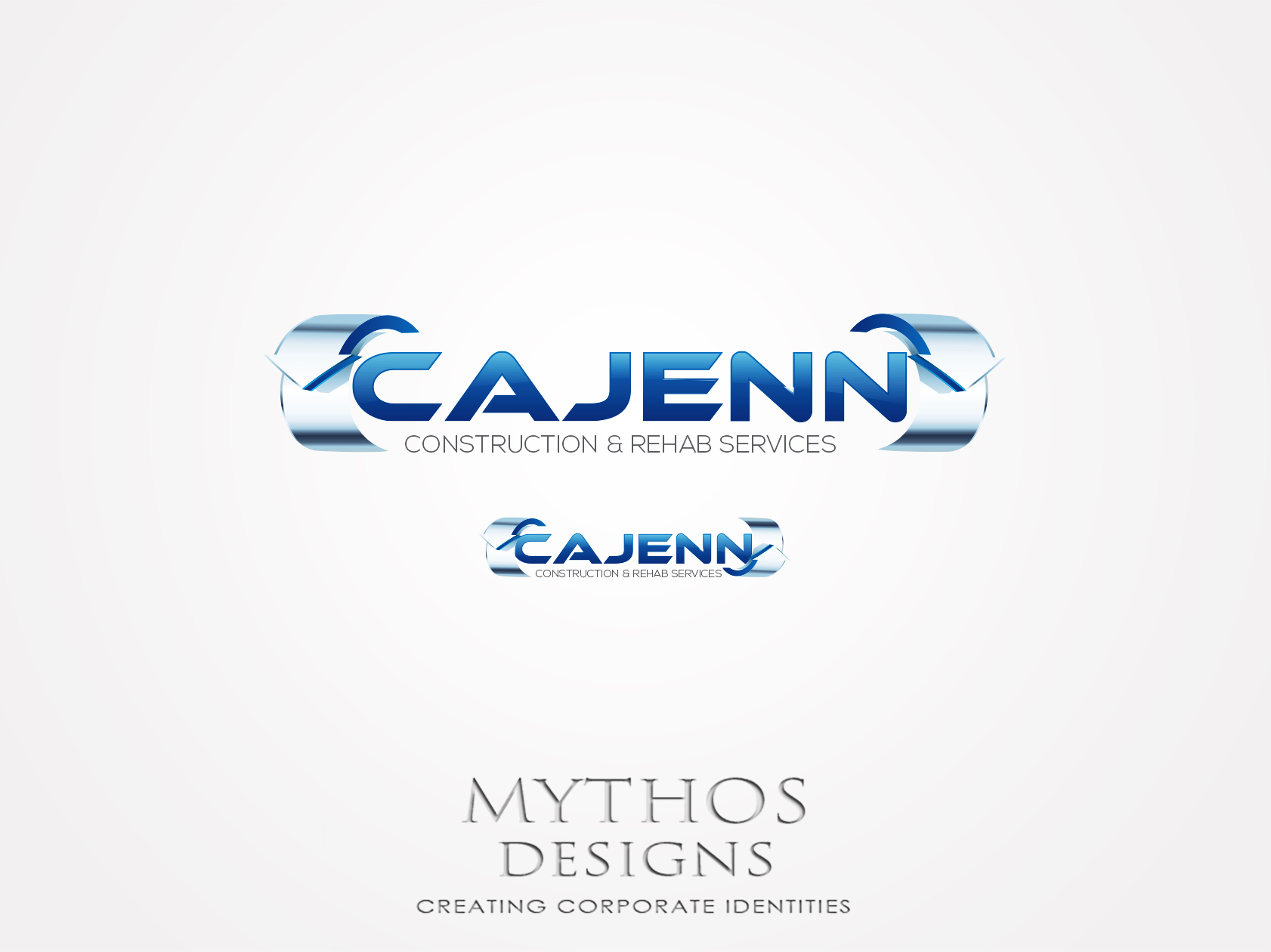Logo Design by Mythos Designs - Entry No. 316 in the Logo Design Contest New Logo Design for CaJenn Construction & Rehab Services.