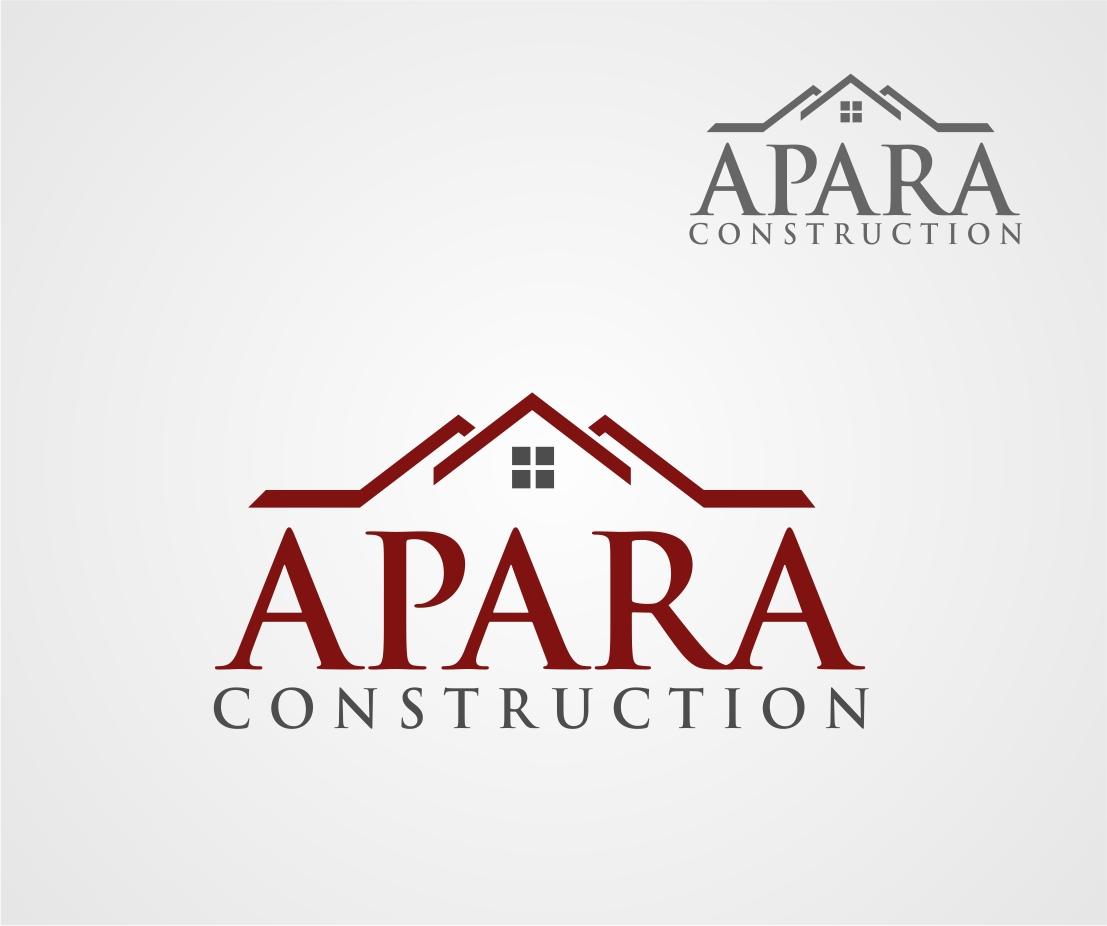 Logo Design by Reivan Ferdinan - Entry No. 10 in the Logo Design Contest Apara Construction Logo Design.