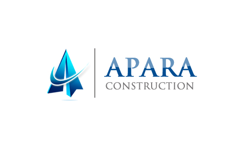 Logo Design by Crystal Desizns - Entry No. 11 in the Logo Design Contest Apara Construction Logo Design.