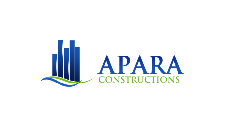 Logo Design by Crystal Desizns - Entry No. 12 in the Logo Design Contest Apara Construction Logo Design.