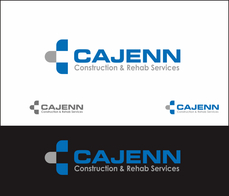 Logo Design by Armada Jamaluddin - Entry No. 323 in the Logo Design Contest New Logo Design for CaJenn Construction & Rehab Services.