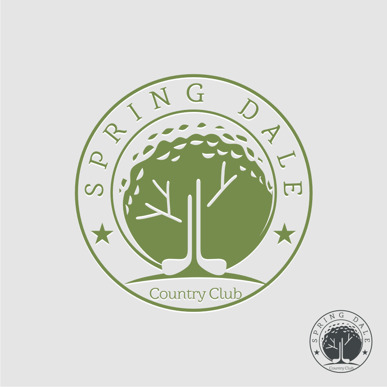Logo Design by graphicleaf - Entry No. 36 in the Logo Design Contest Unique Logo Design Wanted for Springdale Country Club.
