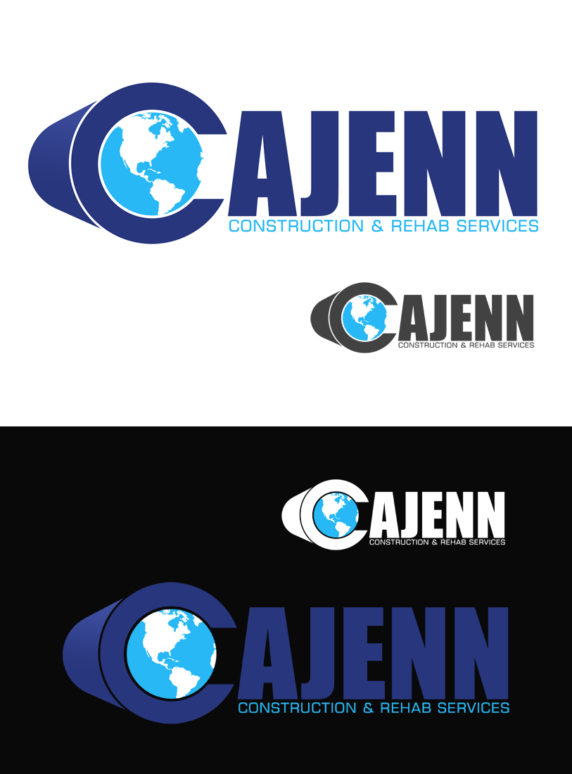 Logo Design by Private User - Entry No. 324 in the Logo Design Contest New Logo Design for CaJenn Construction & Rehab Services.
