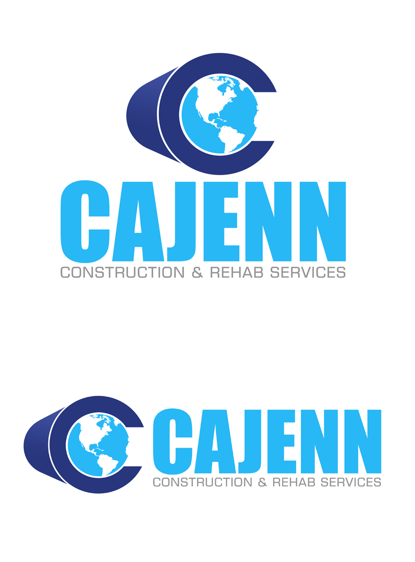 Logo Design by Robert Turla - Entry No. 325 in the Logo Design Contest New Logo Design for CaJenn Construction & Rehab Services.