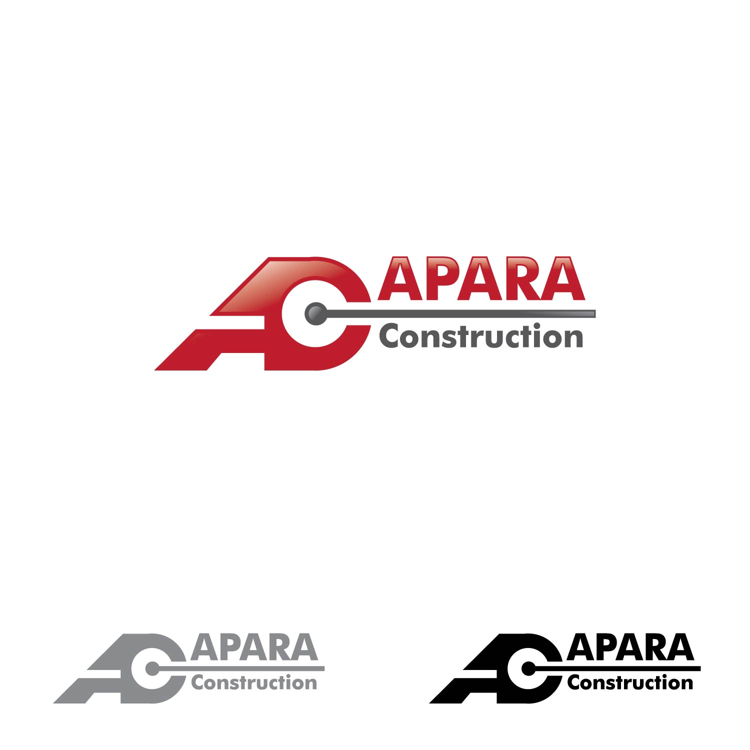 Logo Design by lagalag - Entry No. 14 in the Logo Design Contest Apara Construction Logo Design.