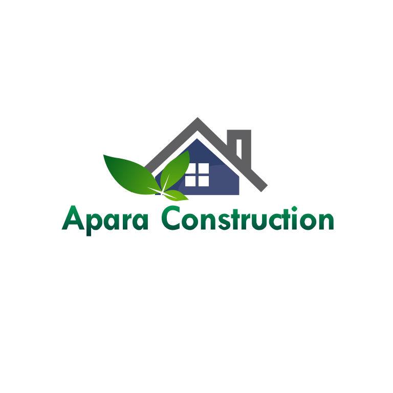 Logo Design by Kaven Lee - Entry No. 16 in the Logo Design Contest Apara Construction Logo Design.