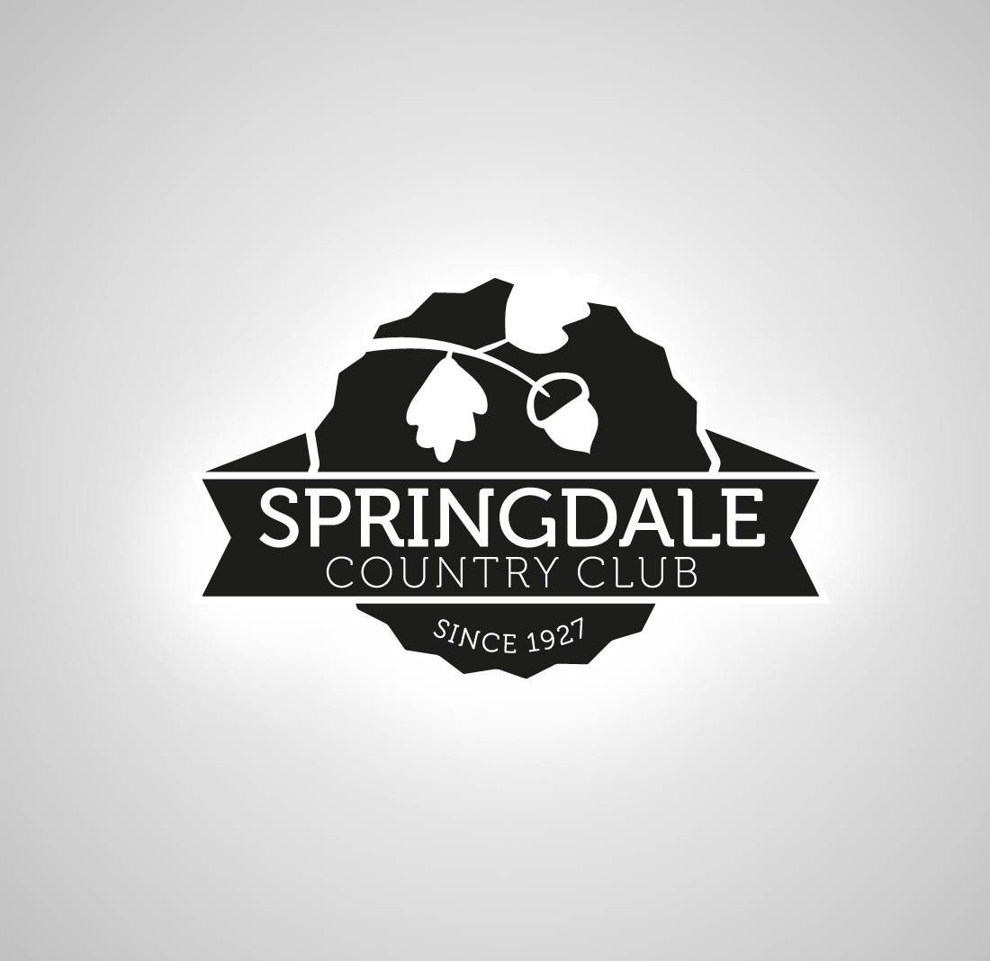 Logo Design by mungom - Entry No. 45 in the Logo Design Contest Unique Logo Design Wanted for Springdale Country Club.