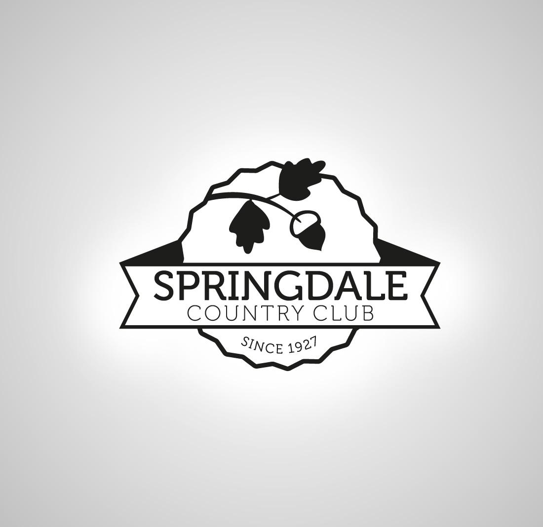 Logo Design by mungom - Entry No. 46 in the Logo Design Contest Unique Logo Design Wanted for Springdale Country Club.