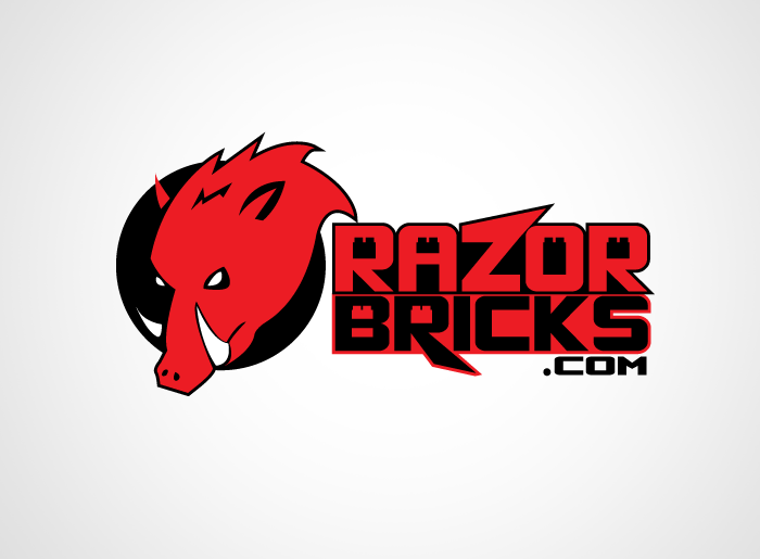 Logo Design by Jan Chua - Entry No. 30 in the Logo Design Contest Unique Logo Design Wanted for razorbricks.com.