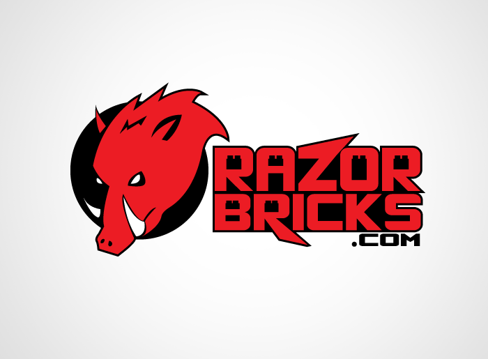 Logo Design by Jan Chua - Entry No. 31 in the Logo Design Contest Unique Logo Design Wanted for razorbricks.com.
