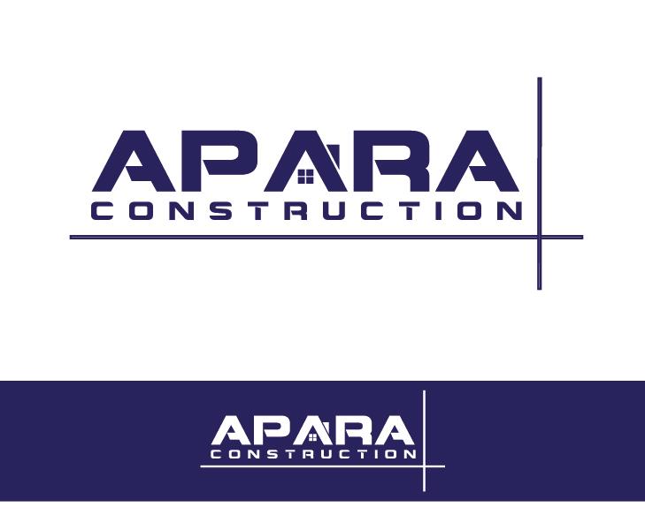 Logo Design by VENTSISLAV KOVACHEV - Entry No. 17 in the Logo Design Contest Apara Construction Logo Design.