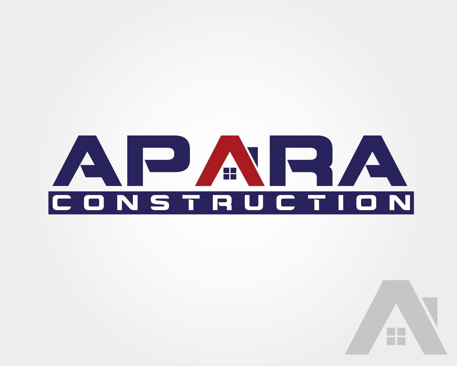Logo Design by VENTSISLAV KOVACHEV - Entry No. 19 in the Logo Design Contest Apara Construction Logo Design.