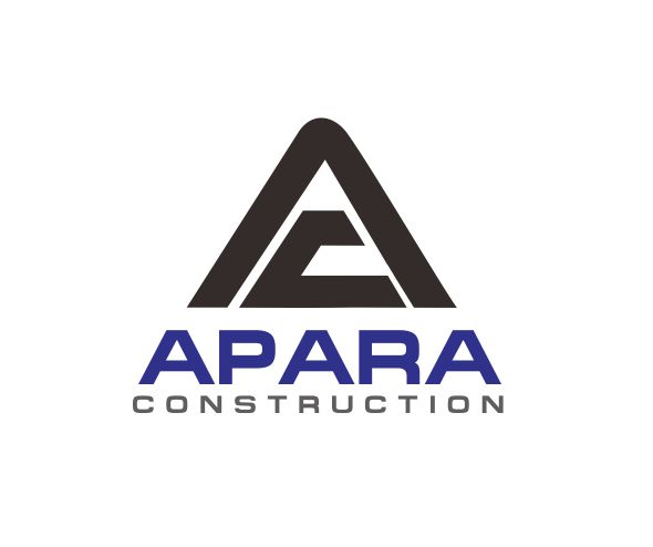Logo Design by ronny - Entry No. 20 in the Logo Design Contest Apara Construction Logo Design.