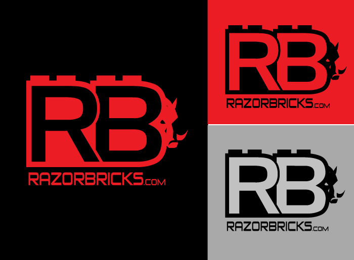 Logo Design by Jan Chua - Entry No. 44 in the Logo Design Contest Unique Logo Design Wanted for razorbricks.com.