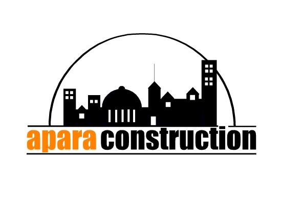 Logo Design by Ismail Adhi Wibowo - Entry No. 26 in the Logo Design Contest Apara Construction Logo Design.