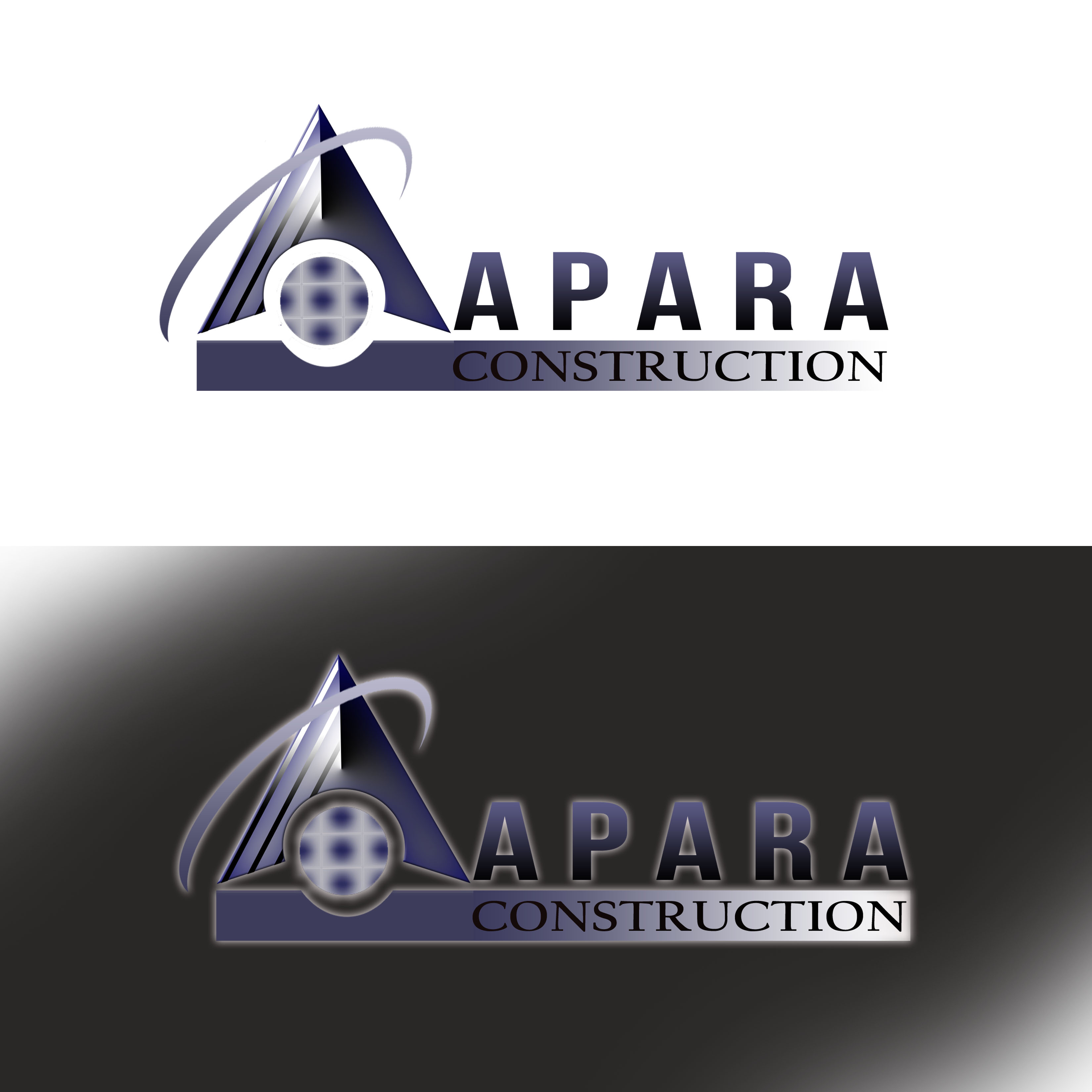 Logo Design by Alan Esclamado - Entry No. 27 in the Logo Design Contest Apara Construction Logo Design.