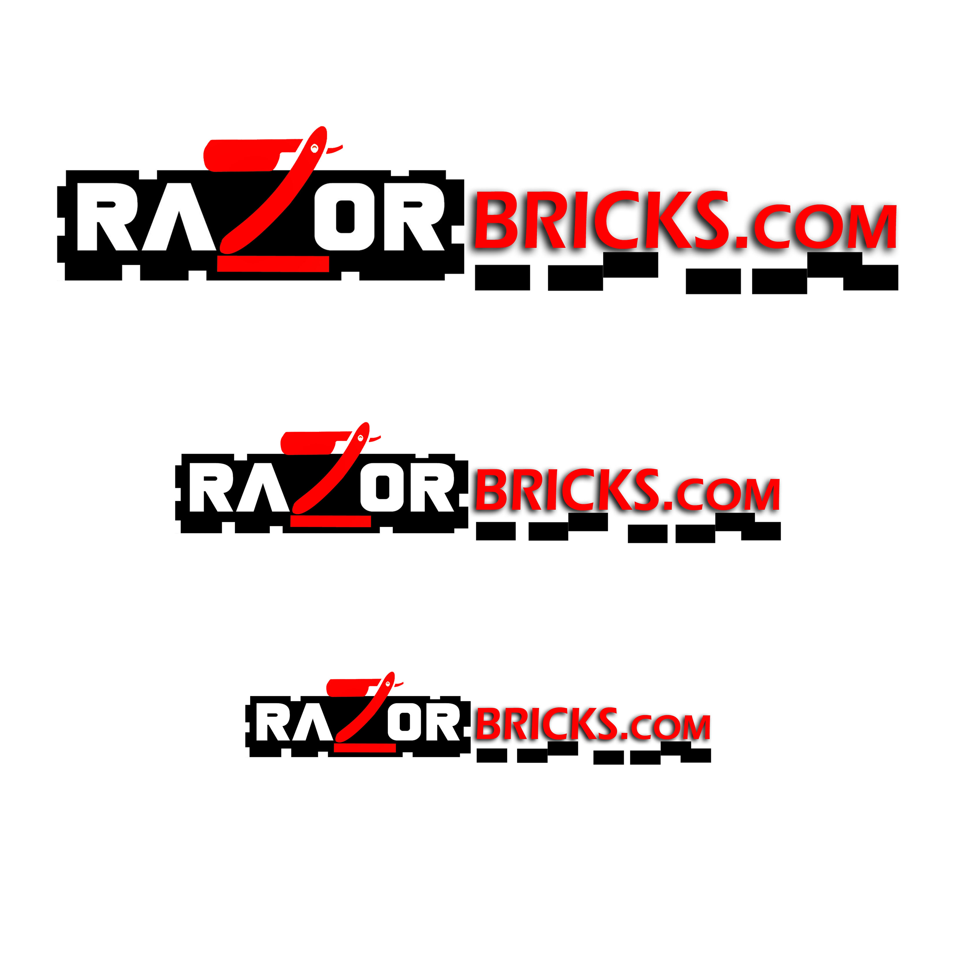 Logo Design by Alan Esclamado - Entry No. 46 in the Logo Design Contest Unique Logo Design Wanted for razorbricks.com.