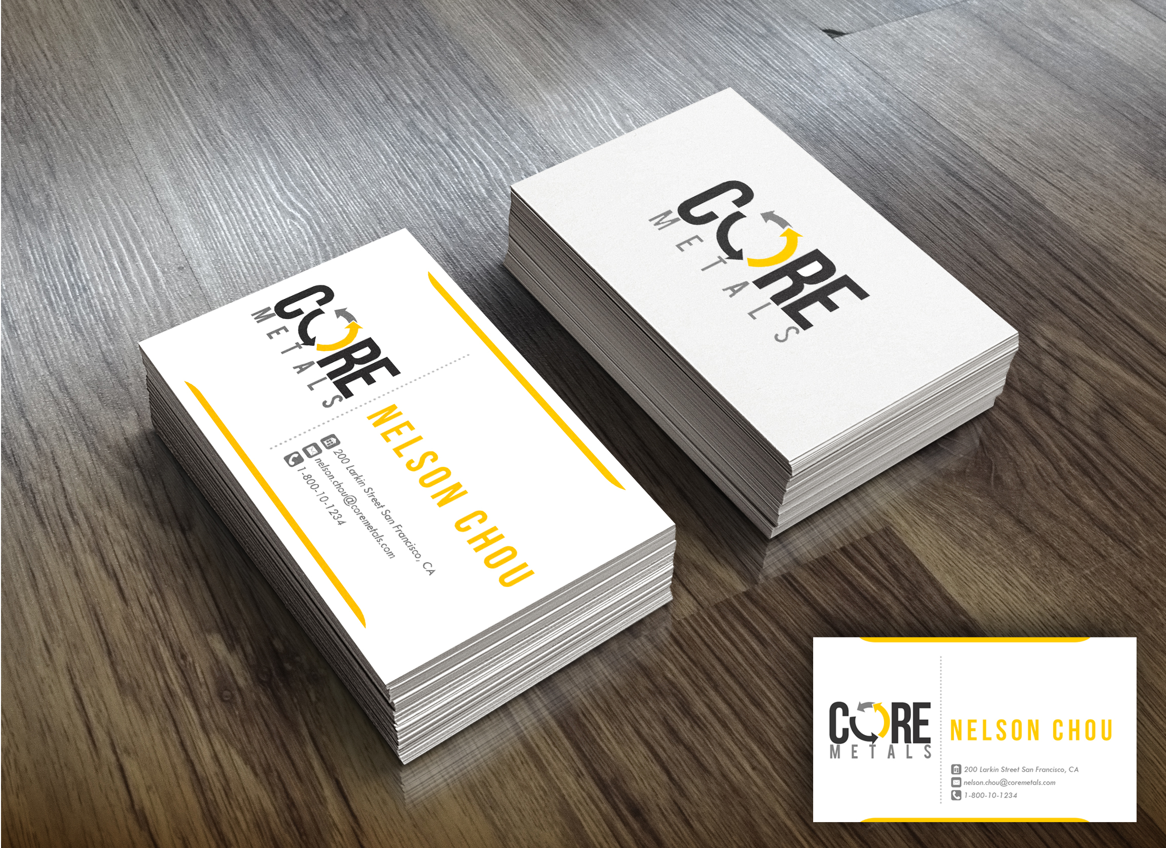 Logo Design by Kenneth Joel - Entry No. 10 in the Logo Design Contest New Logo Design for Core Metals Inc.