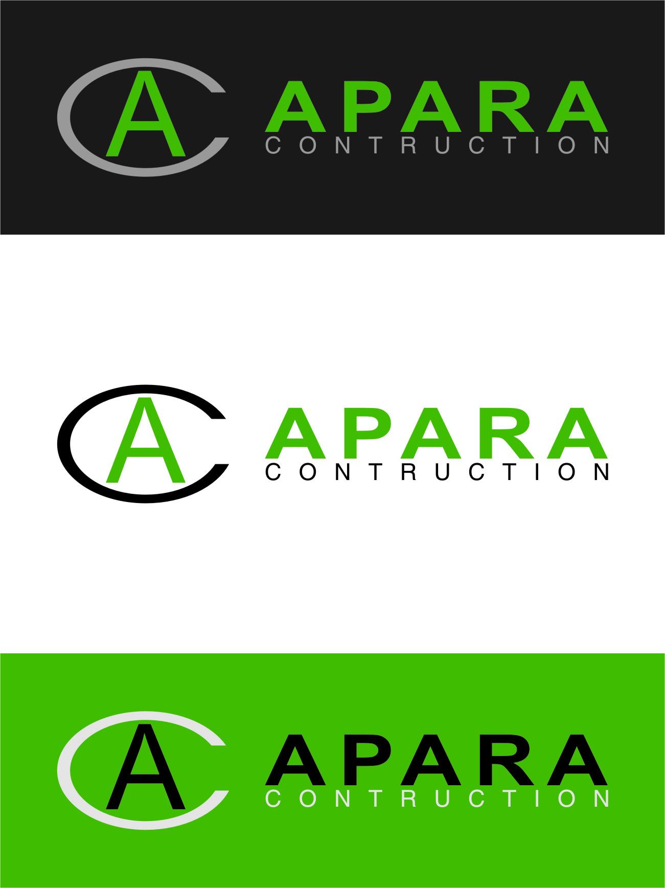 Logo Design by RasYa Muhammad Athaya - Entry No. 32 in the Logo Design Contest Apara Construction Logo Design.
