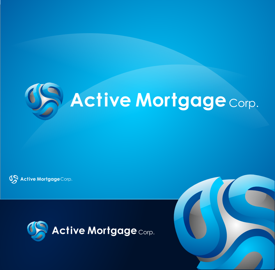 Logo Design by Private User - Entry No. 65 in the Logo Design Contest Active Mortgage Corp..