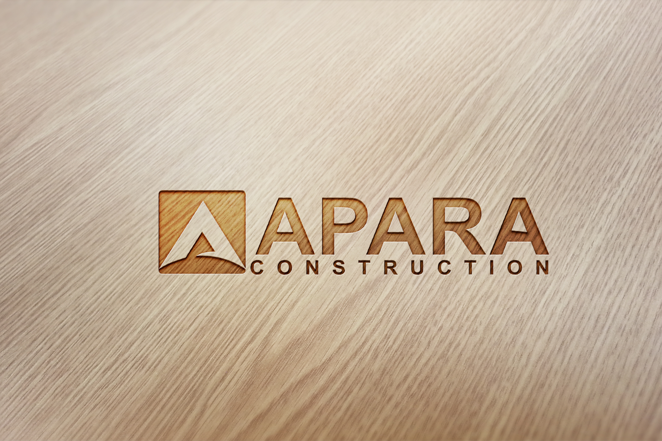Logo Design by Logo Solution - Entry No. 37 in the Logo Design Contest Apara Construction Logo Design.
