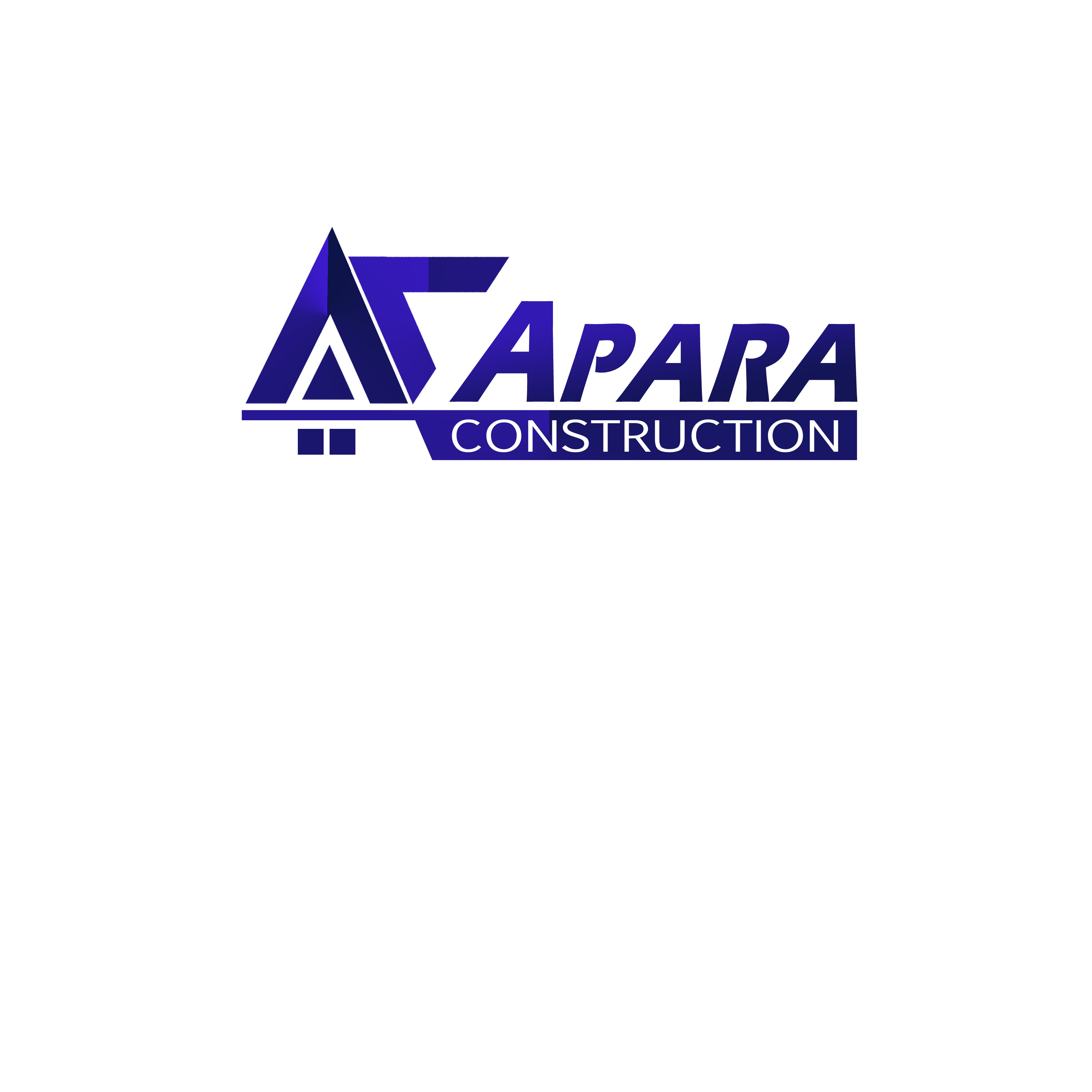 Logo Design by Alan Esclamado - Entry No. 38 in the Logo Design Contest Apara Construction Logo Design.