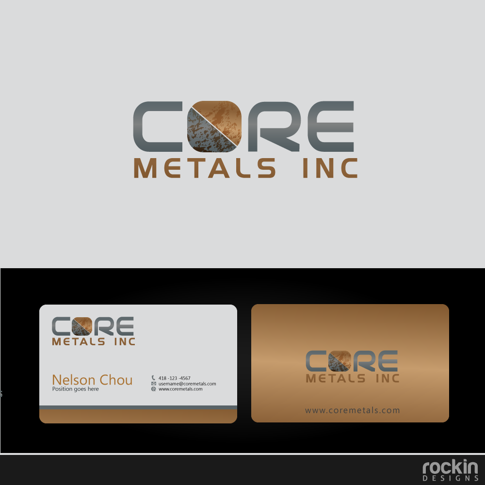 Logo Design by rockin - Entry No. 13 in the Logo Design Contest New Logo Design for Core Metals Inc.