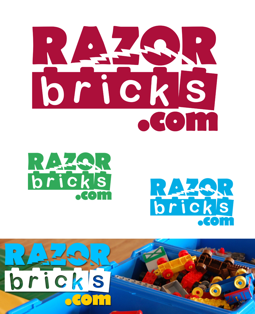 Logo Design by Robert Turla - Entry No. 48 in the Logo Design Contest Unique Logo Design Wanted for razorbricks.com.