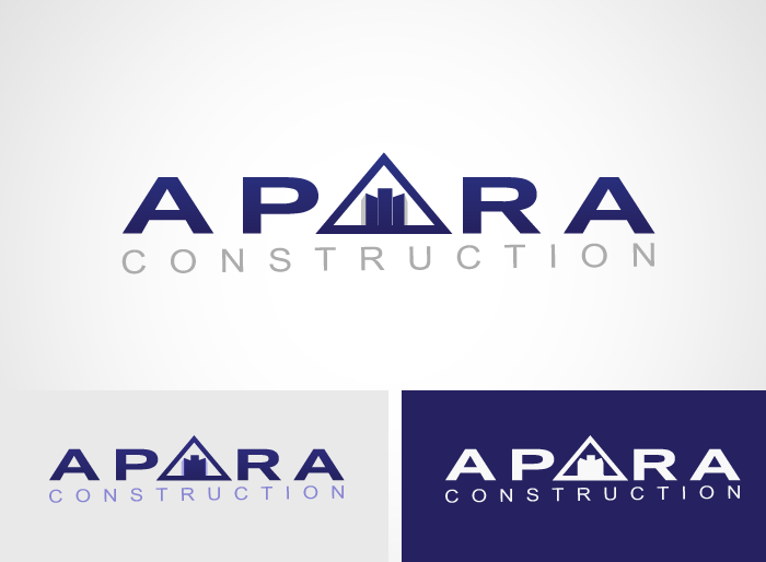 Logo Design by Jan Chua - Entry No. 39 in the Logo Design Contest Apara Construction Logo Design.