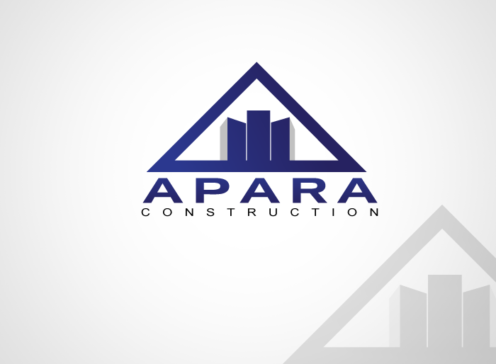 Logo Design by Jan Chua - Entry No. 40 in the Logo Design Contest Apara Construction Logo Design.