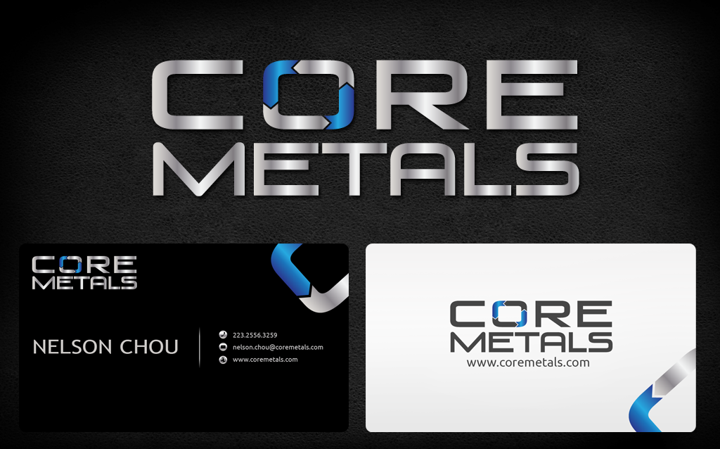Logo Design by Jan Chua - Entry No. 14 in the Logo Design Contest New Logo Design for Core Metals Inc.