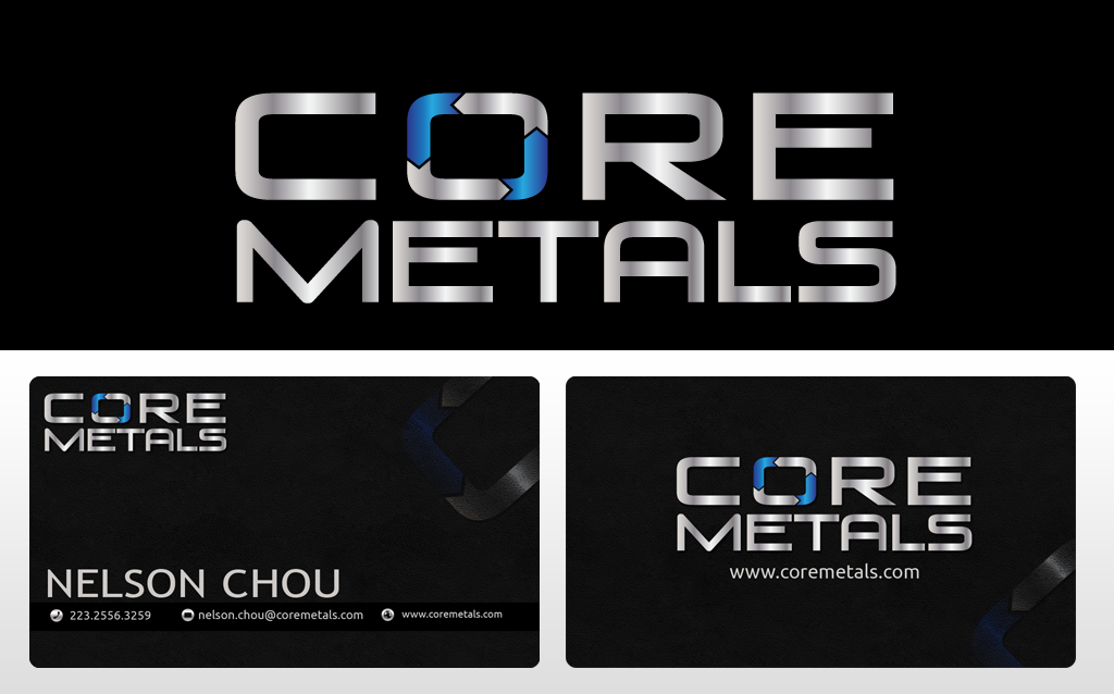 Logo Design by Jan Chua - Entry No. 15 in the Logo Design Contest New Logo Design for Core Metals Inc.