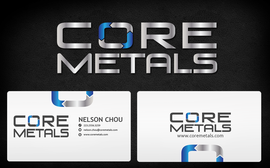 Logo Design by Jan Chua - Entry No. 16 in the Logo Design Contest New Logo Design for Core Metals Inc.