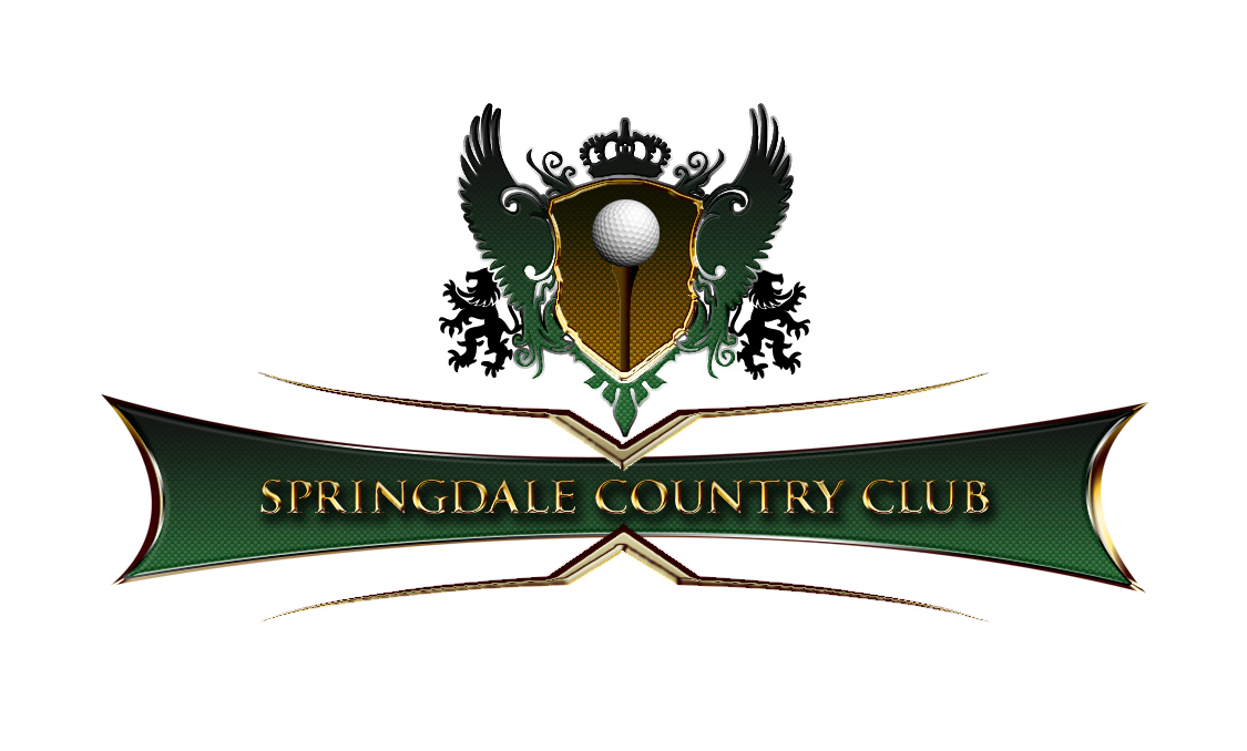 Logo Design by Randy Goad - Entry No. 77 in the Logo Design Contest Unique Logo Design Wanted for Springdale Country Club.