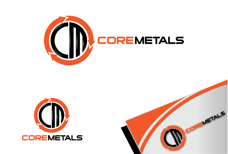 Logo Design by Private User - Entry No. 17 in the Logo Design Contest New Logo Design for Core Metals Inc.
