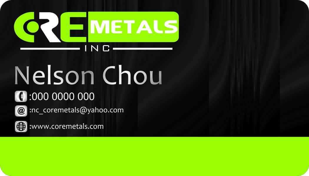 Logo Design by Crispin Jr Vasquez - Entry No. 21 in the Logo Design Contest New Logo Design for Core Metals Inc.