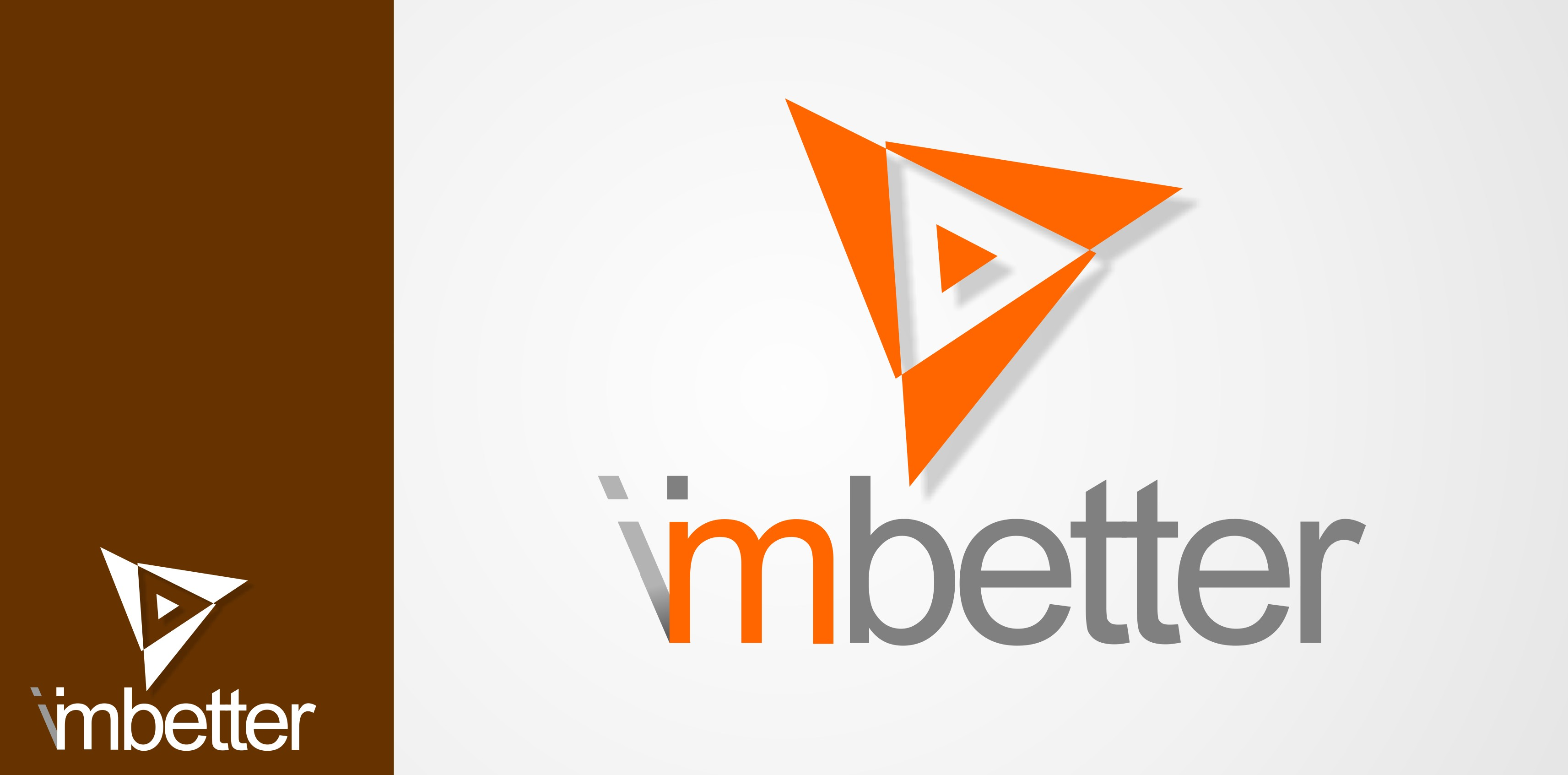 Logo Design by Crispin Jr Vasquez - Entry No. 6 in the Logo Design Contest Imaginative Logo Design for imbetter.