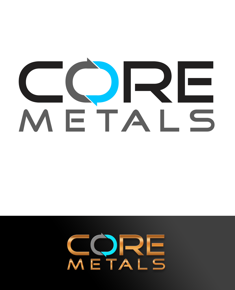 Logo Design by Private User - Entry No. 23 in the Logo Design Contest New Logo Design for Core Metals Inc.