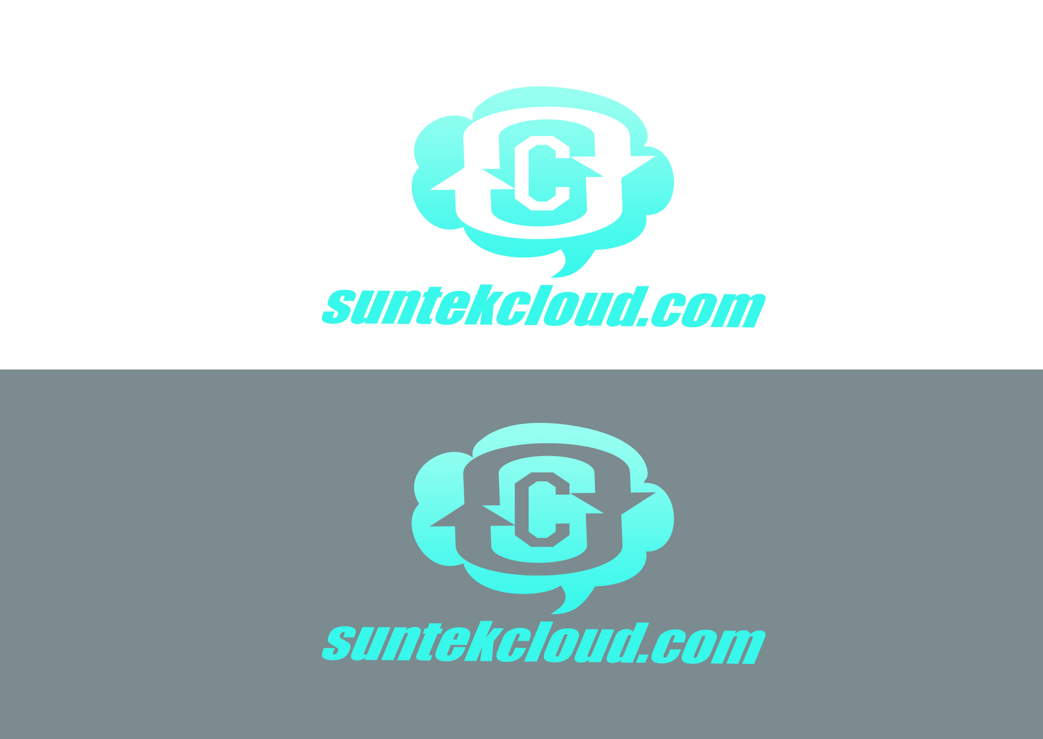 Logo Design by Alan Esclamado - Entry No. 4 in the Logo Design Contest Imaginative Logo Design for suntekcloud.com.