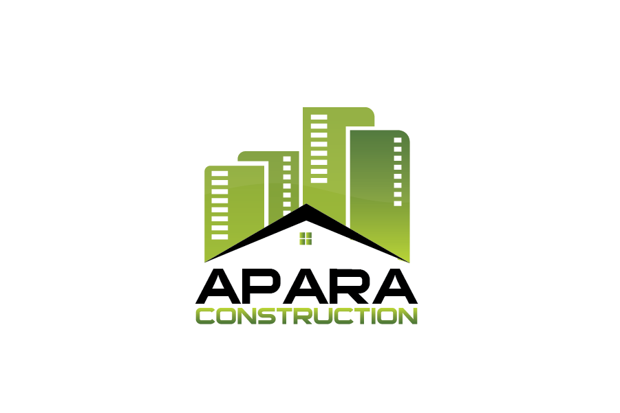 Logo Design by Private User - Entry No. 41 in the Logo Design Contest Apara Construction Logo Design.