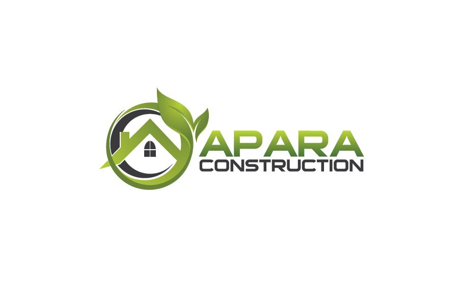 Logo Design by Private User - Entry No. 42 in the Logo Design Contest Apara Construction Logo Design.