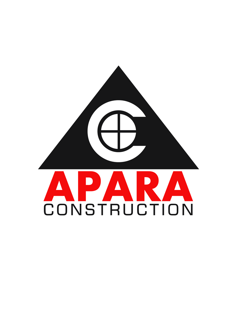 Logo Design by Robert Turla - Entry No. 43 in the Logo Design Contest Apara Construction Logo Design.