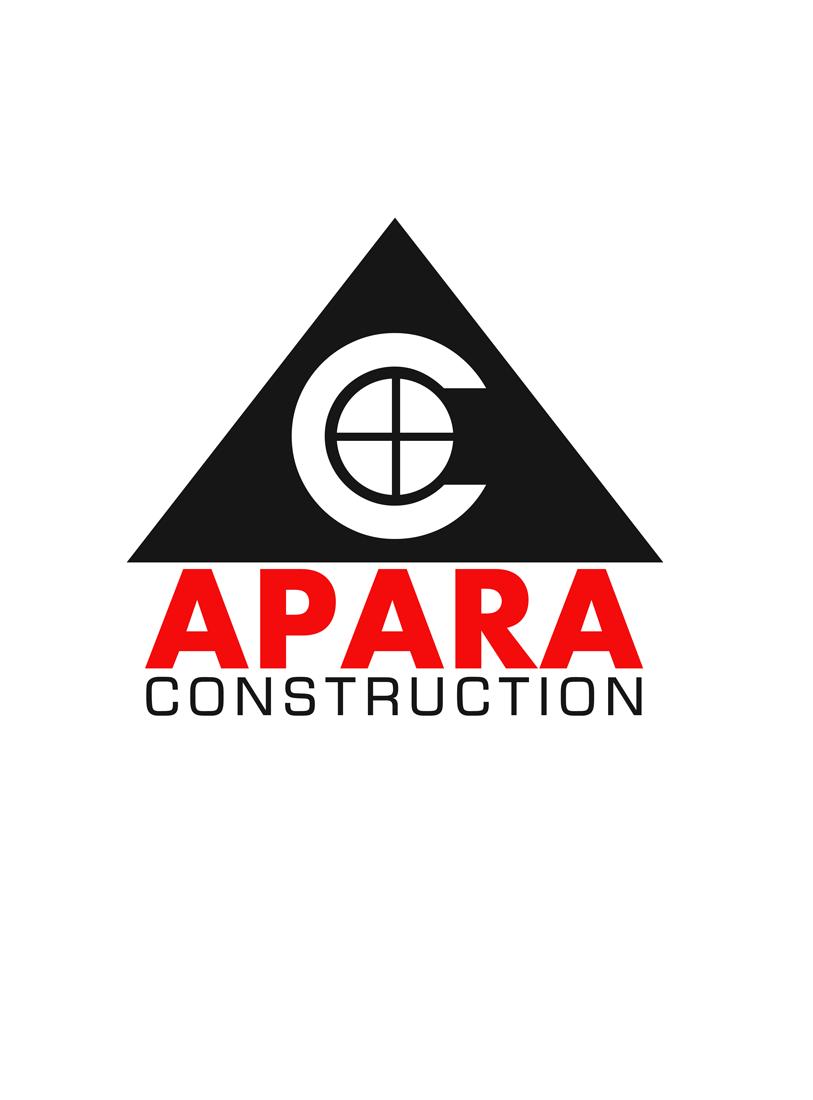 Logo Design by Private User - Entry No. 43 in the Logo Design Contest Apara Construction Logo Design.