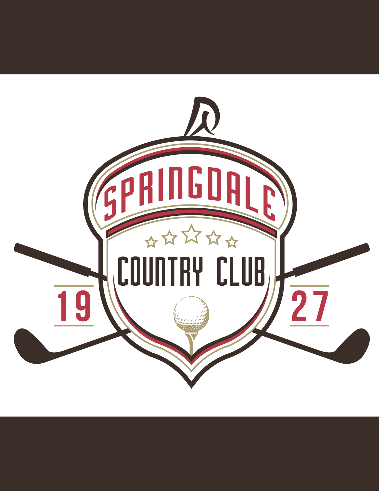Logo Design by Jesus P Quiroga - Entry No. 83 in the Logo Design Contest Unique Logo Design Wanted for Springdale Country Club.