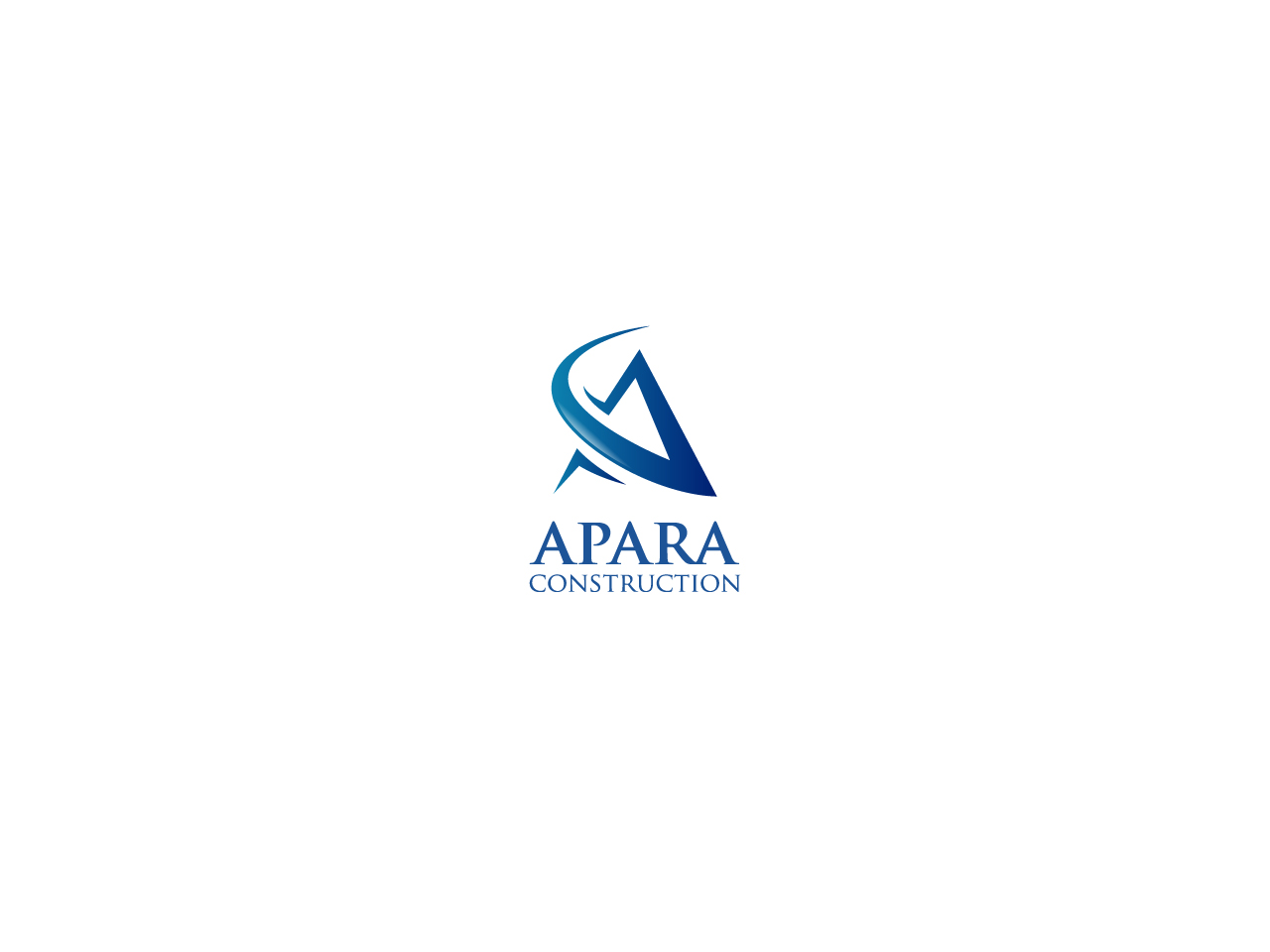 Logo Design by Kenneth Luna - Entry No. 44 in the Logo Design Contest Apara Construction Logo Design.